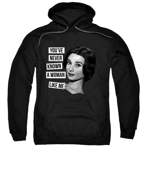 The Woman Audrey Hepburn Sweatshirt