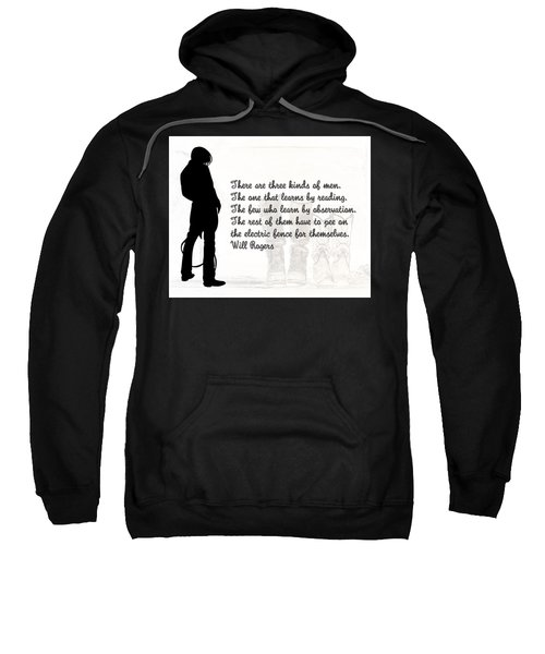 There Are Three Kinds Of Men Sweatshirt