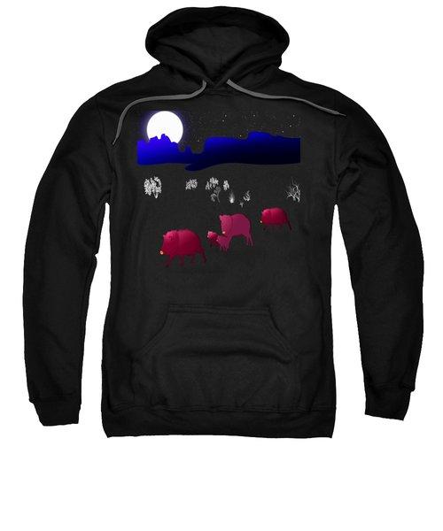 They Walk By Night Sweatshirt