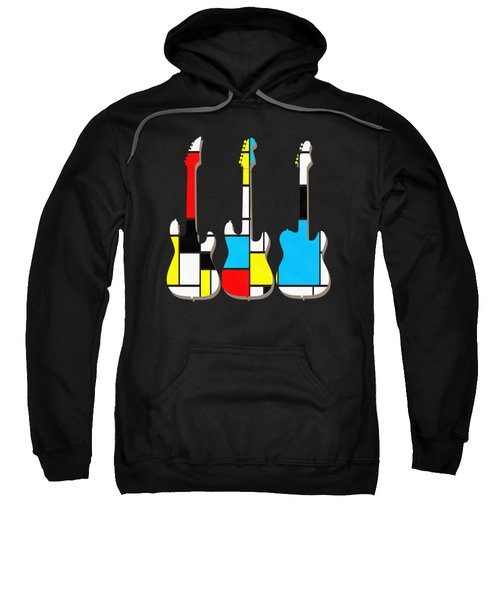 Three Guitars Modern Tee Sweatshirt