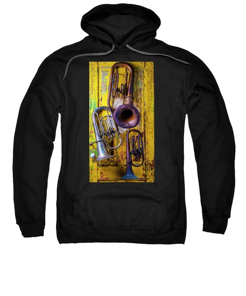 Three Old Tubas Sweatshirt