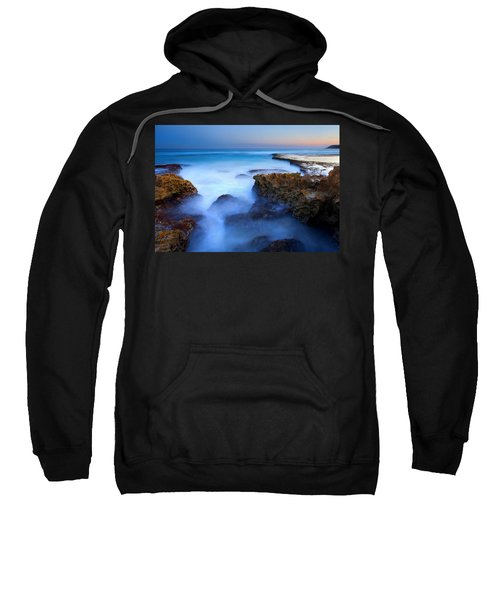 Tidal Bowl Boil Sweatshirt by Mike  Dawson