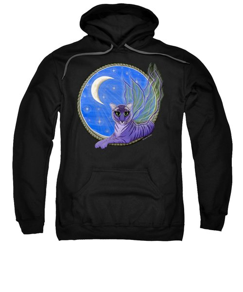 Tigerpixie Purple Tiger Fairy Sweatshirt