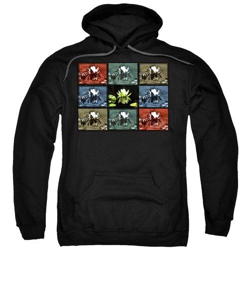 Tiled Water Lillies Sweatshirt