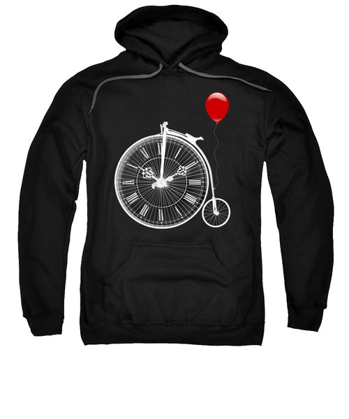 Time For Fun On Black Sweatshirt