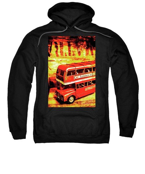 Tin Sign Travels Sweatshirt