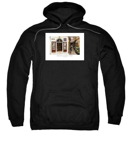 Tobaconist In Kerkyra - Corfu Sweatshirt