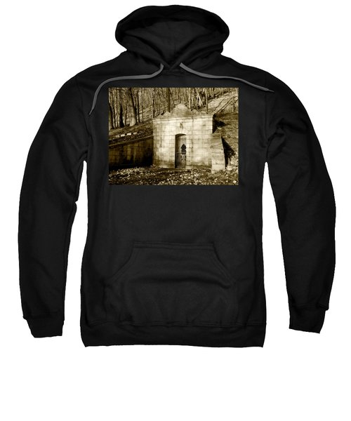 Tomb With A View In Sepia Sweatshirt