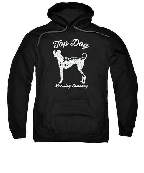 Top Dog Brewing Company Tee White Ink Sweatshirt