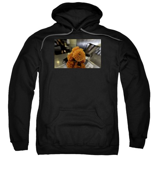 Sweatshirt featuring the photograph Treats At The Ice Cream Parlor by Lora Lee Chapman