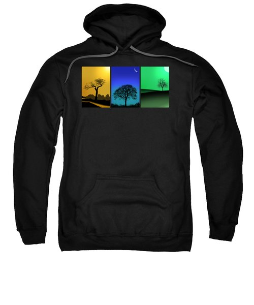 Tree Triptych Sweatshirt