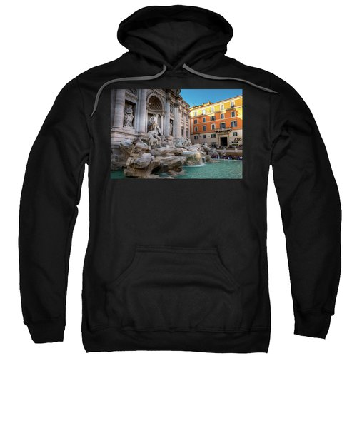 Trevi Fountain Sweatshirt by Fink Andreas