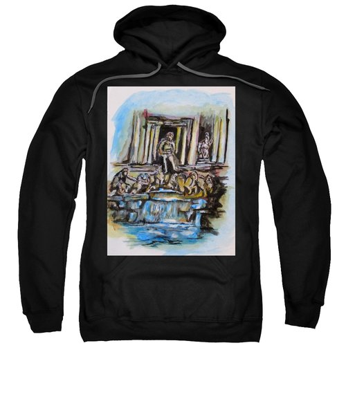 Trevi Fountain, Rome Sweatshirt