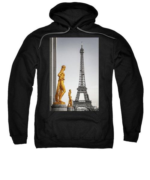 Trocadero Statues Sweatshirt
