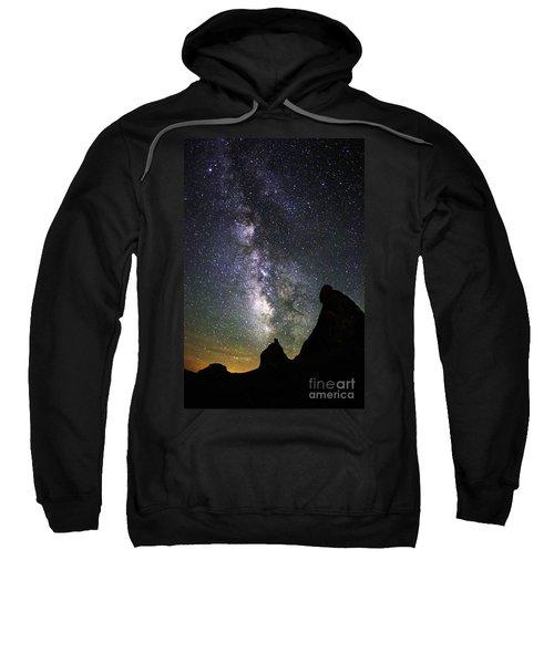 Trona Pinnacles Milky Way Sweatshirt