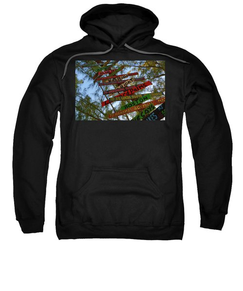 Tropical Directions Sweatshirt