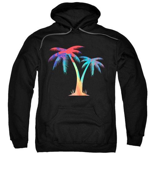Tropical Palm Trees Sweatshirt
