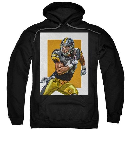 Troy Polamalu Pittsburgh Steelers Art Sweatshirt