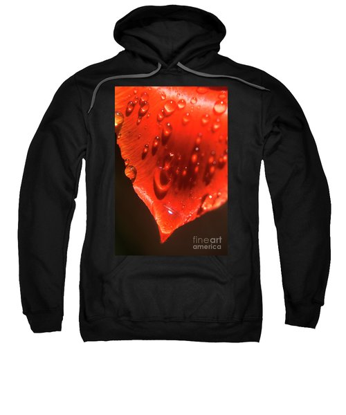 Tulip Petals After A Rain-2197 Sweatshirt