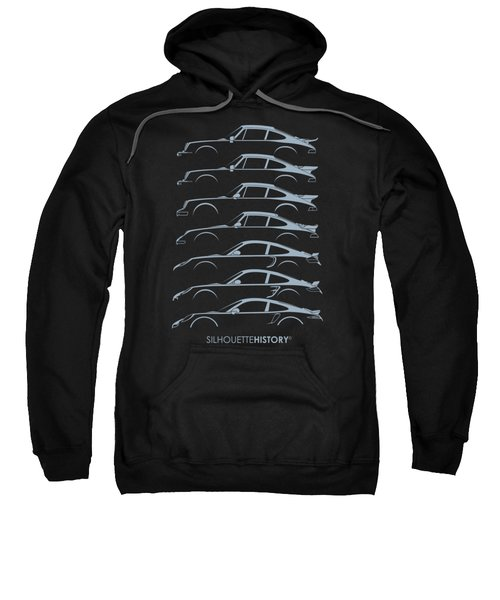 Turbo Sports Car Silhouettehistory Sweatshirt