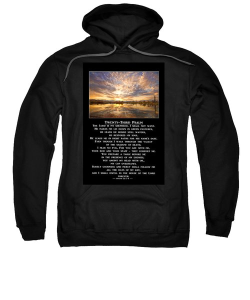 Twenty-third Psalm Prayer Sweatshirt