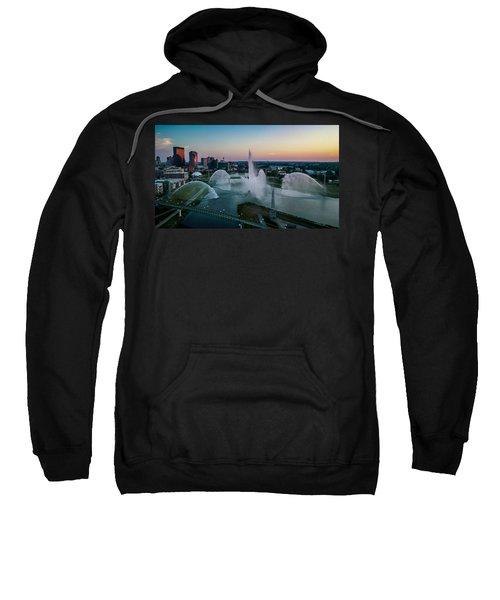 Twilight At The Fountains Sweatshirt