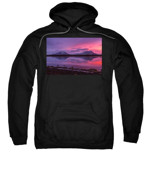 Twin Mountain Sunrise Sweatshirt