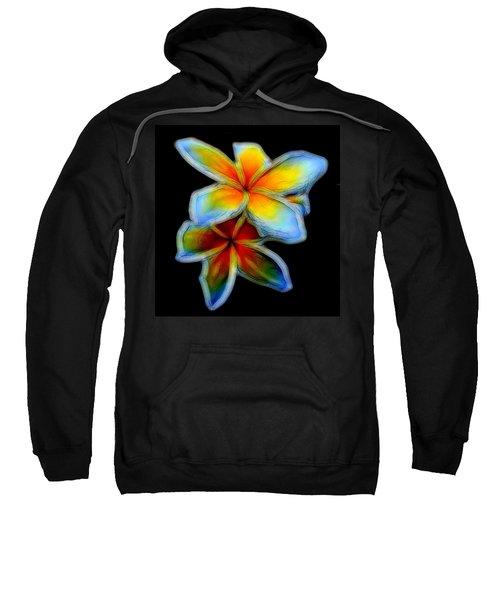 Two Plumerias Sweatshirt