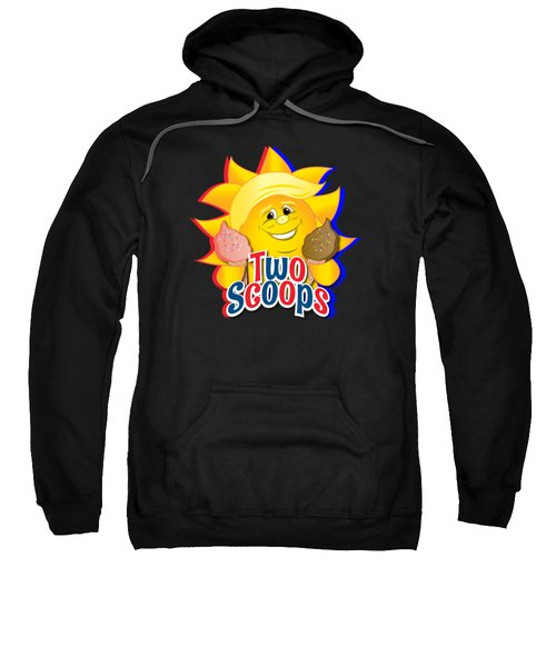 Two Scoops  Sweatshirt by Eye Candy Creations