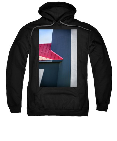 Tybee Building Abstract Sweatshirt