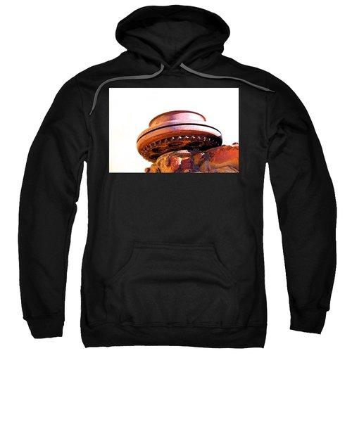 Ufo Landing At Joshua Trees Sweatshirt