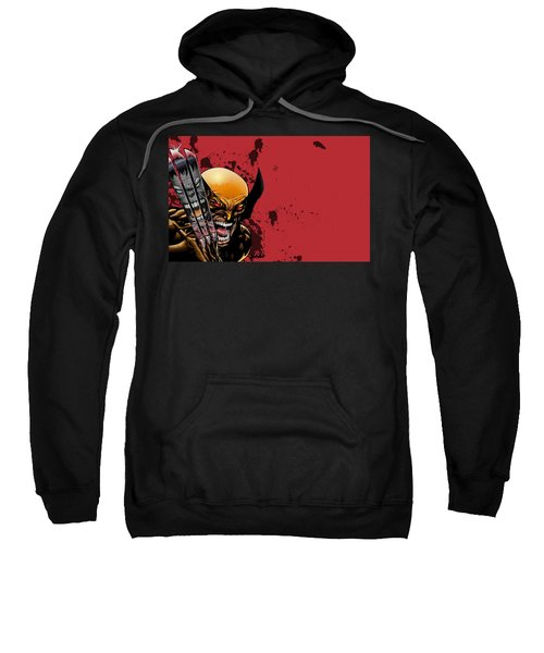Ultimate Wolverine Vs. Hulk Sweatshirt