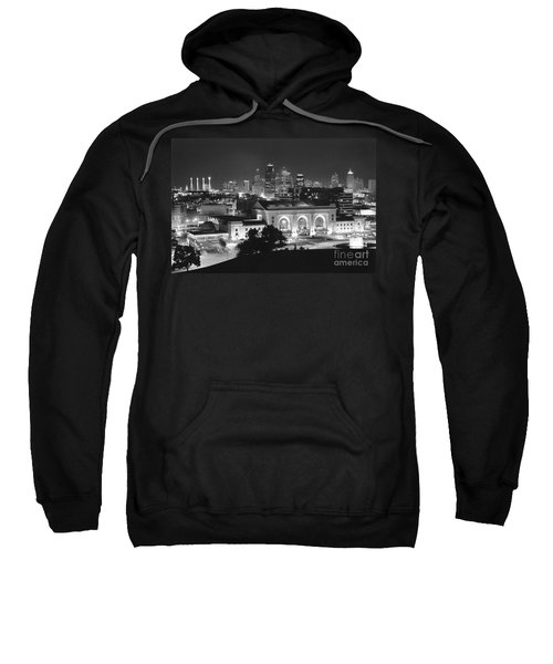Union Station In Black And White Sweatshirt