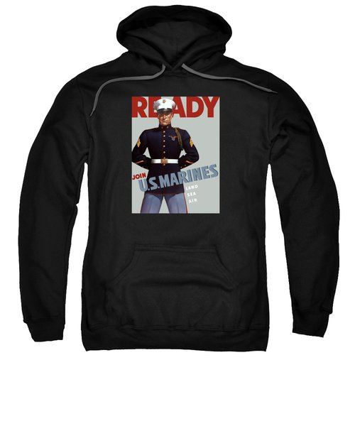 Us Marines - Ready Sweatshirt