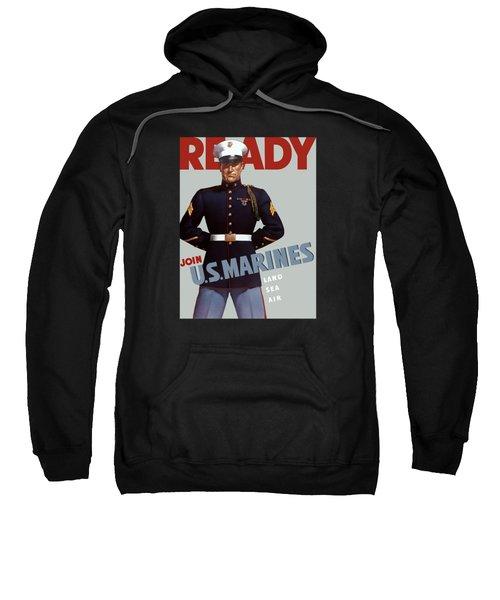Us Marines - Ready Sweatshirt