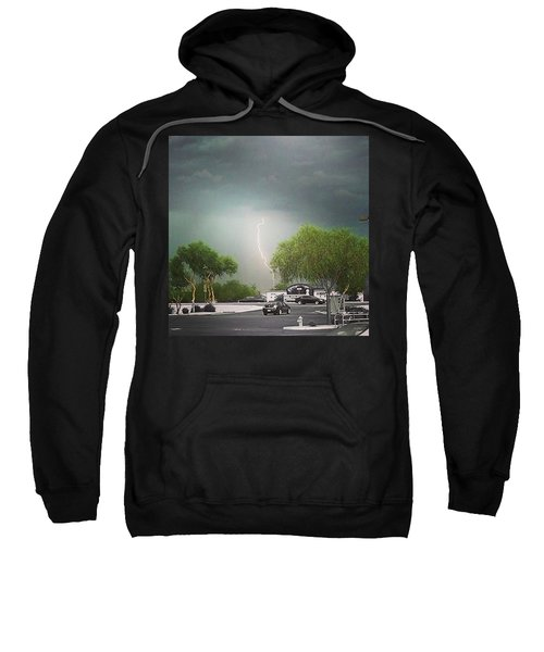 Lightning  Sweatshirt by Speedy Birdman