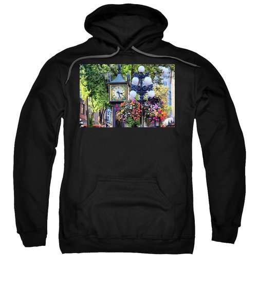 Vancouver Gastown Steam Clock Sweatshirt