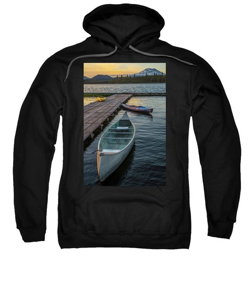 Variation On A Theme At Lava Lake Sweatshirt