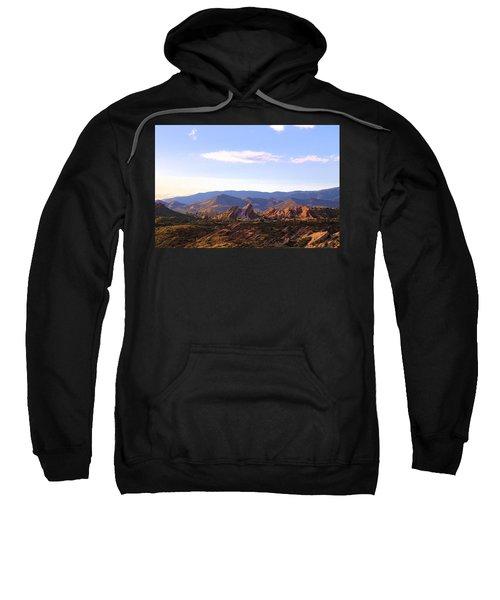Vasquez Rocks Sky And Stones Sweatshirt
