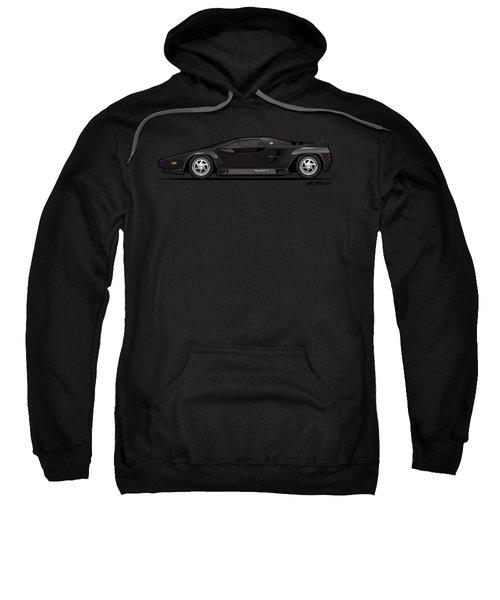 Vector W8 Twin Turbo Black Sweatshirt