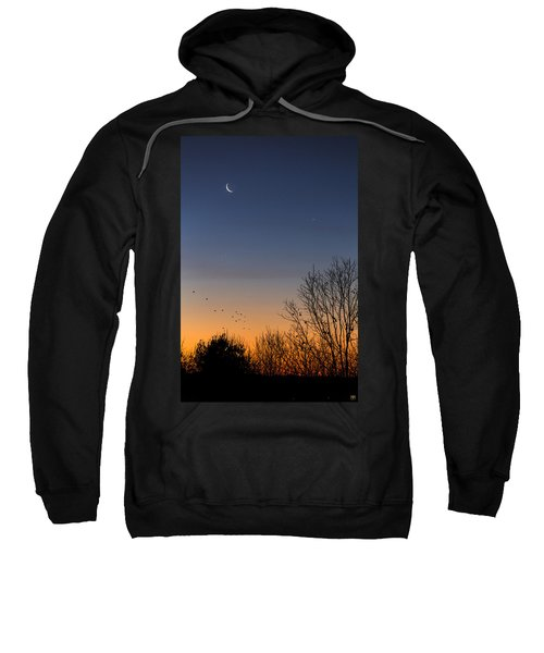 Venus, Mercury And The Moon Sweatshirt