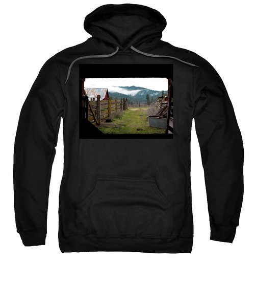 View From A Barn Sweatshirt