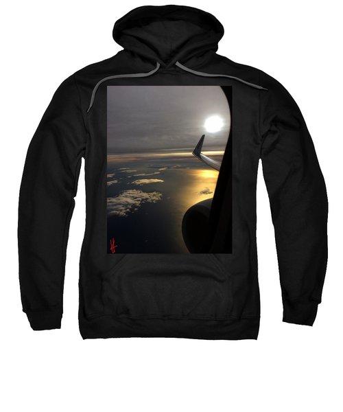 View From Plane  Sweatshirt