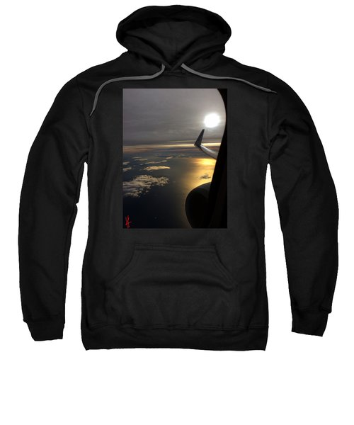 View From Plane  Sweatshirt