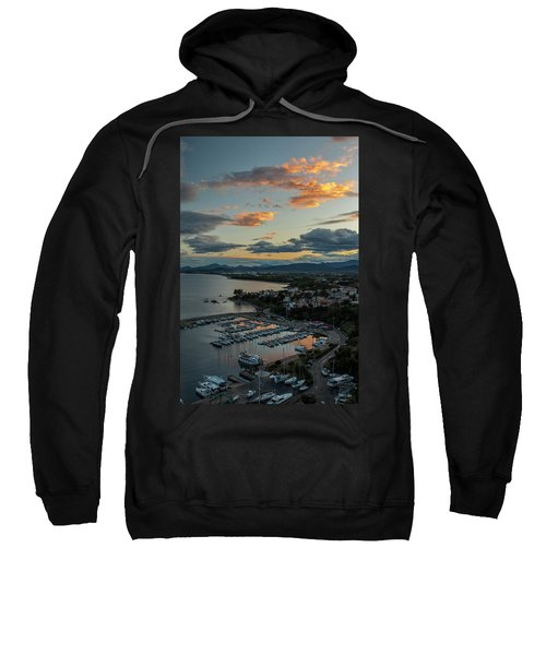 View From The Port Sweatshirt