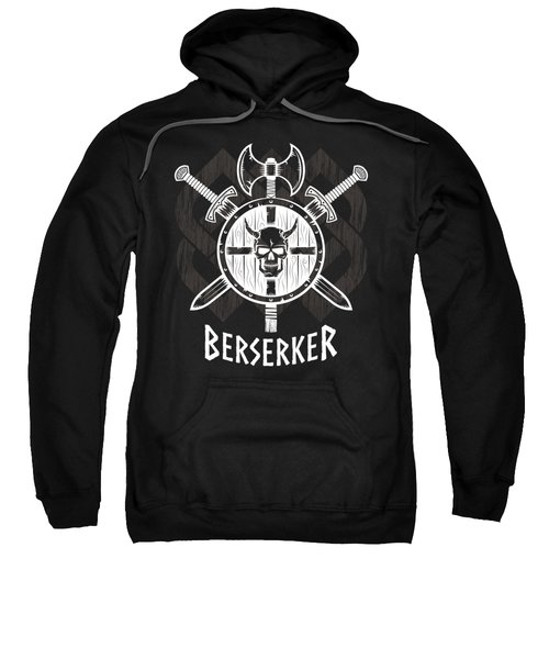 Viking Berserker Old Norse Wild Warrior Sweatshirt