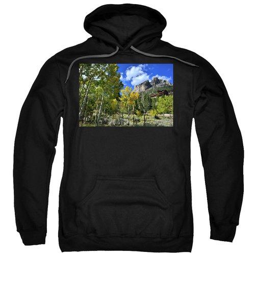 Village Beneath Mt. Charleston Sweatshirt