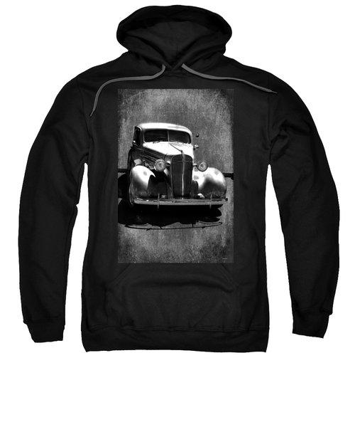 Vintage Car Art 0443 Bw Sweatshirt