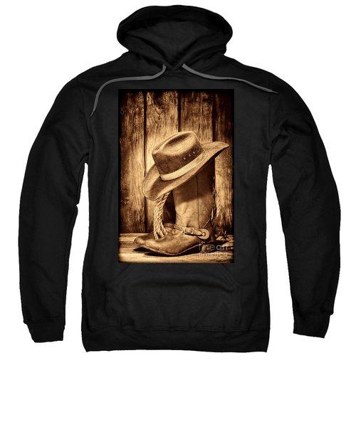 Vintage Cowboy Boots Sweatshirt