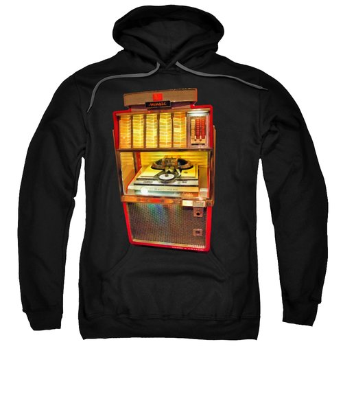 Vintage Jukebox Tee Sweatshirt